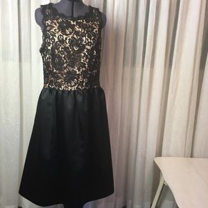 A.B.S. Collection Lace Top Dress